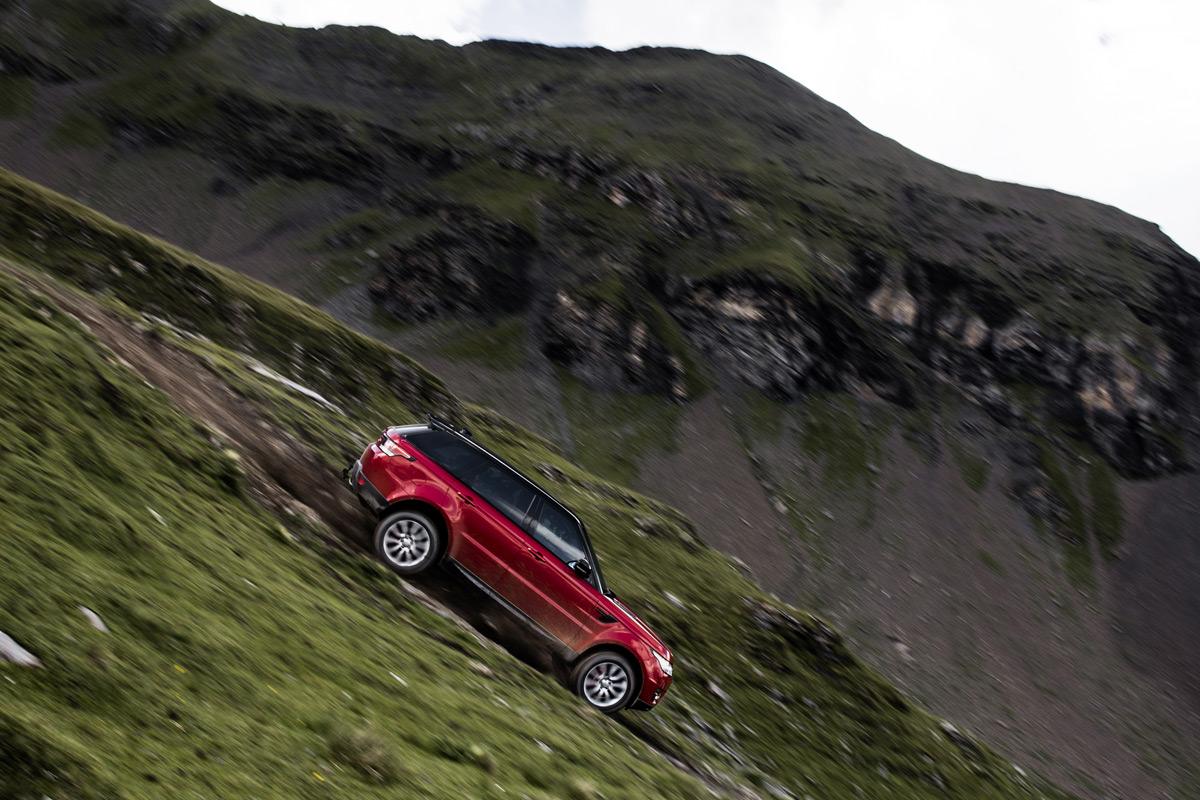 Range Rover Sport Downhill Challenge - 1