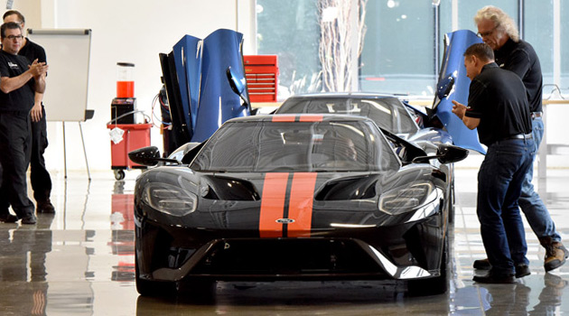 The First 2017 Ford GT Has Just Rolled Off The Assembly Line