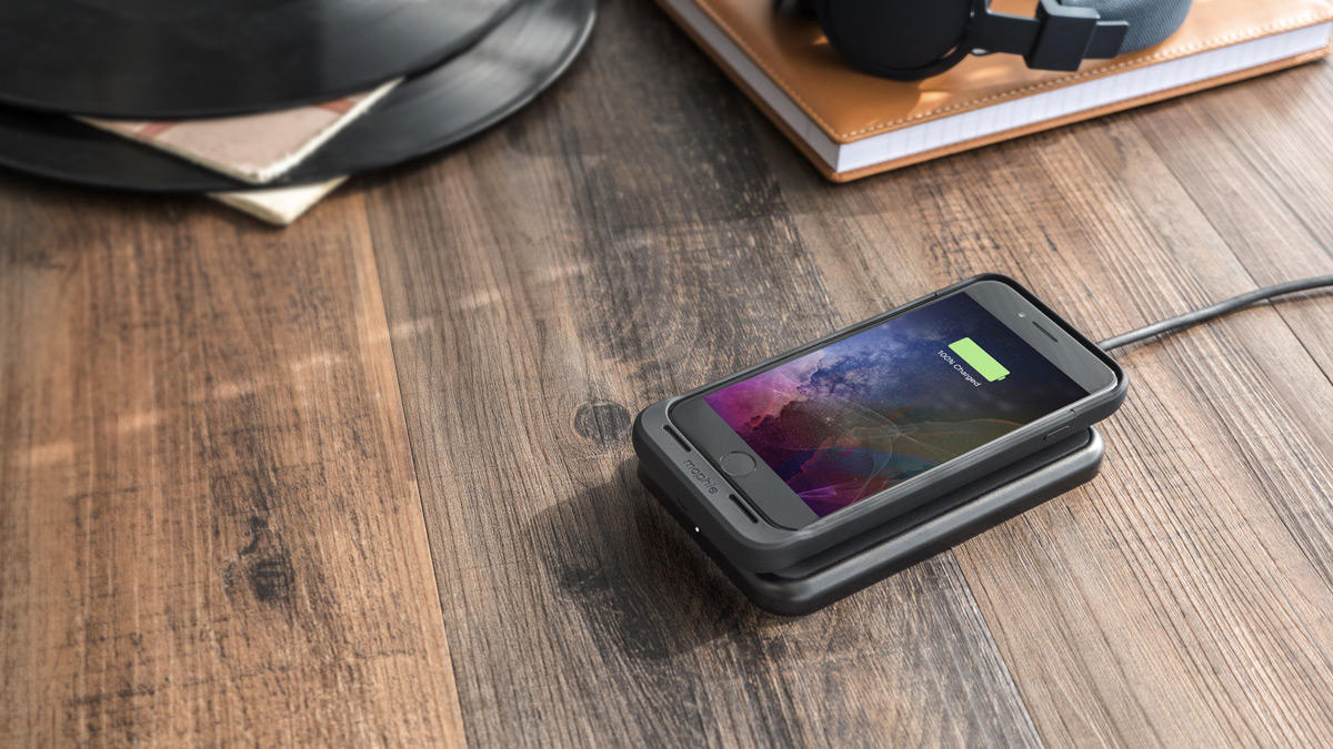 mophie iPhone 7 wireless charging