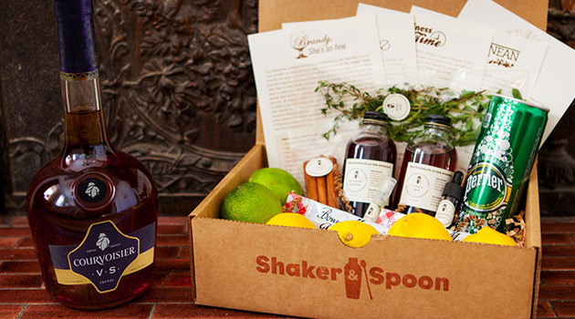 Shaker & Spoon Partners With Courvoisier For Latest Cocktail Box