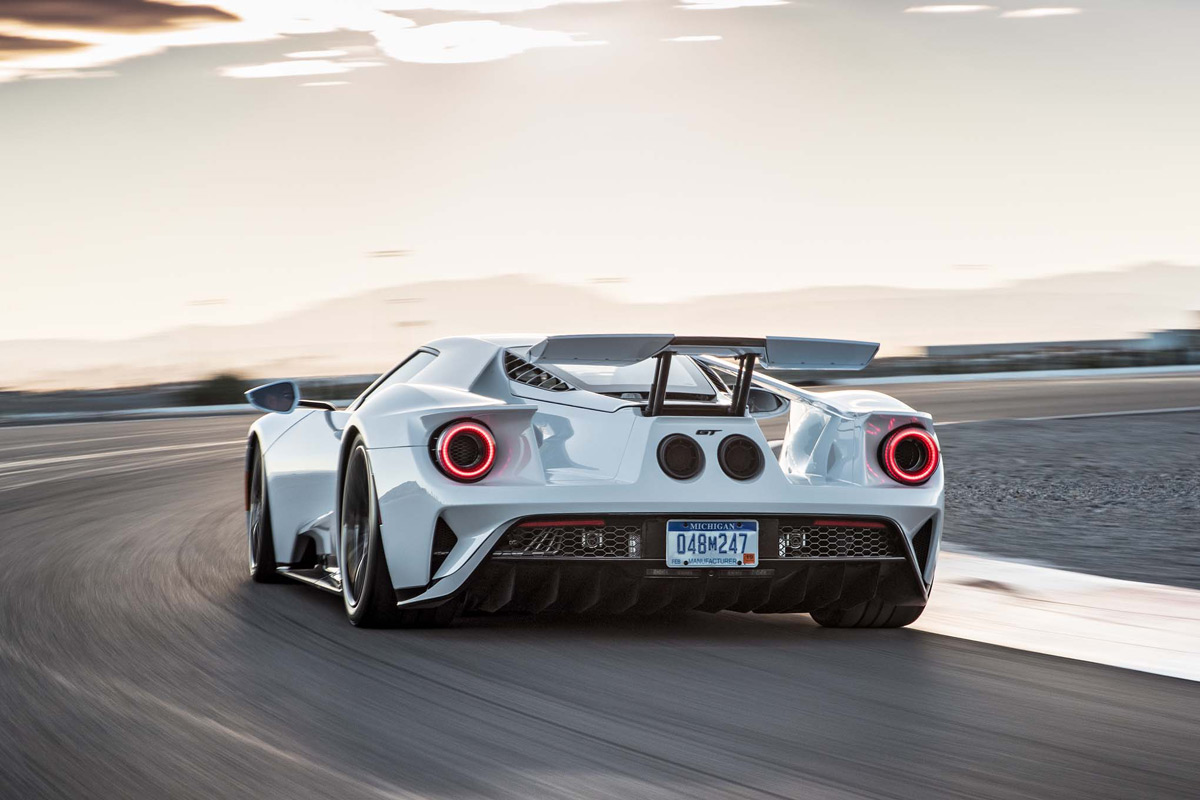 During Development Testing Last Year Ford Pitted The Gt Up Against Two Very Worthy Competitors The Ferrari  Hp And  Lb Ft And Mclaren