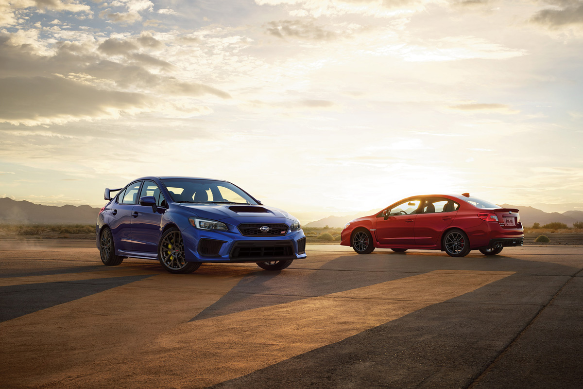 Refreshed 2018 Subaru WRX & STI Receive Minor Updates, But No Extra ...