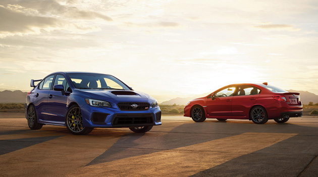 Refreshed 2018 Subaru WRX & STI Receive Minor Updates, But No Extra Power