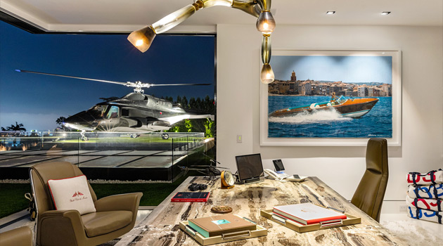 This $250 Million Bel Air Mansion Comes With A Freaking Helicopter!