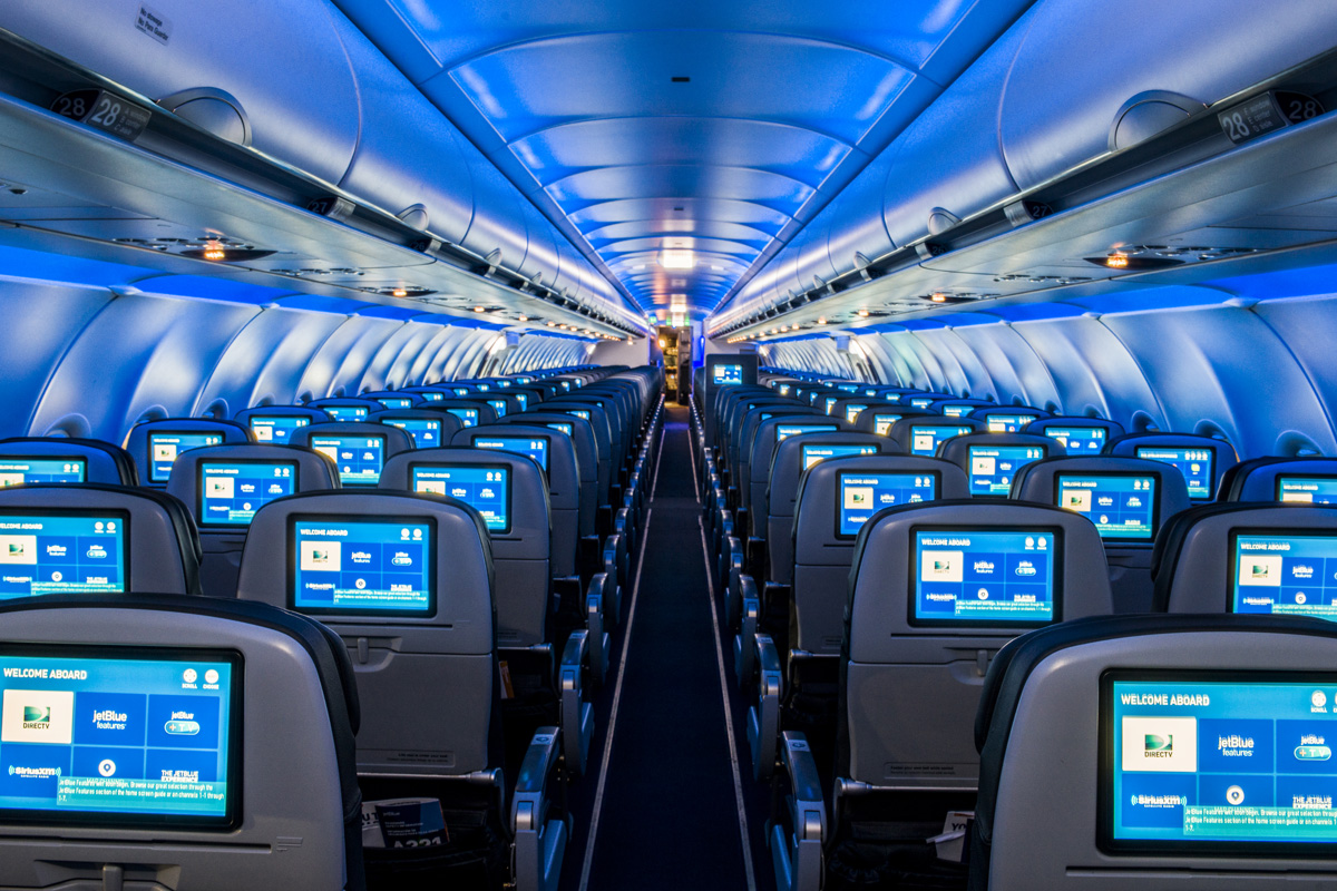 JetBlue cabin