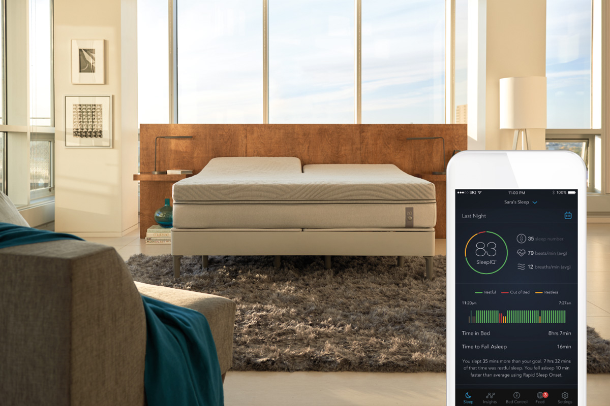 Sleep Number 360 smart bed