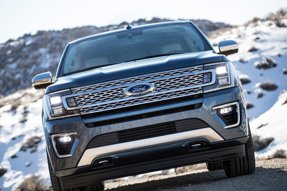 2018 Ford Expedition - Grille