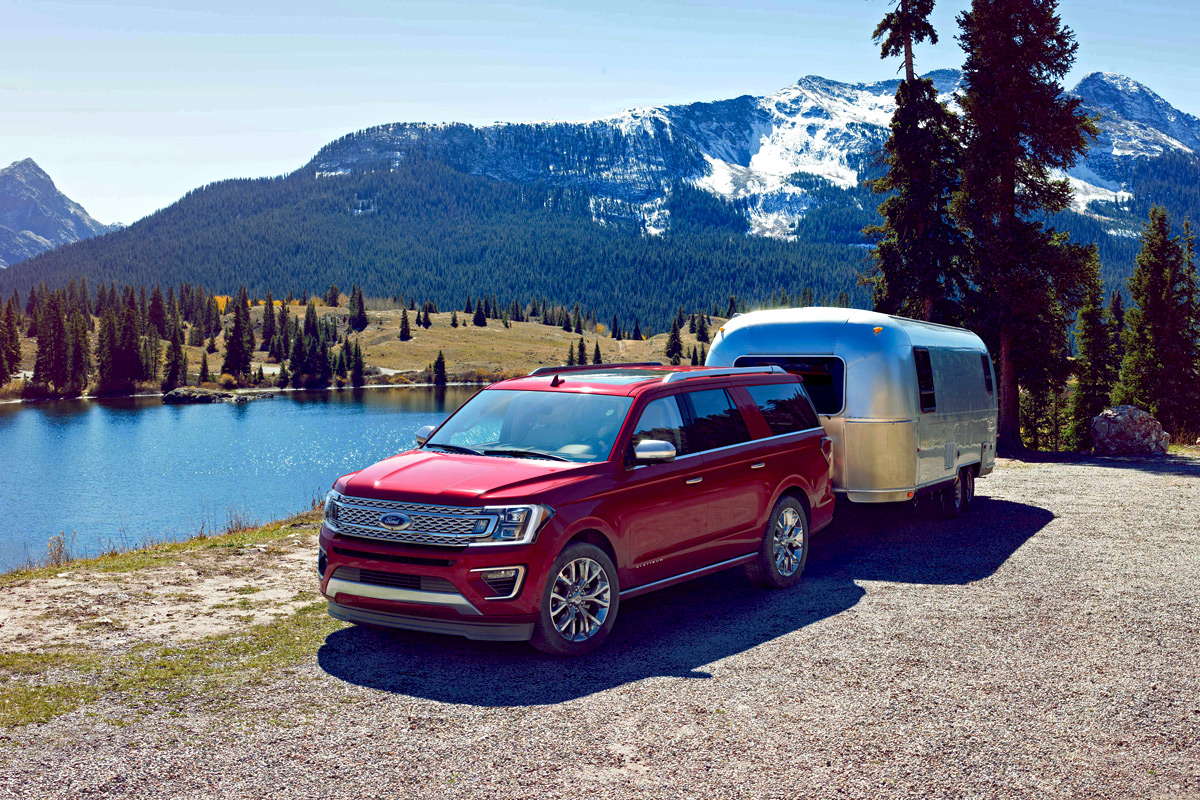 2018 Ford Expedition - Towing a trailer