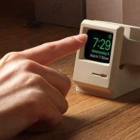 The Elago W3 Charging Stand Turns Your Apple Watch Into A Mini Macintosh