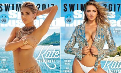 Kate Upton on the cover of the 2017 SI Swimsuit Issue