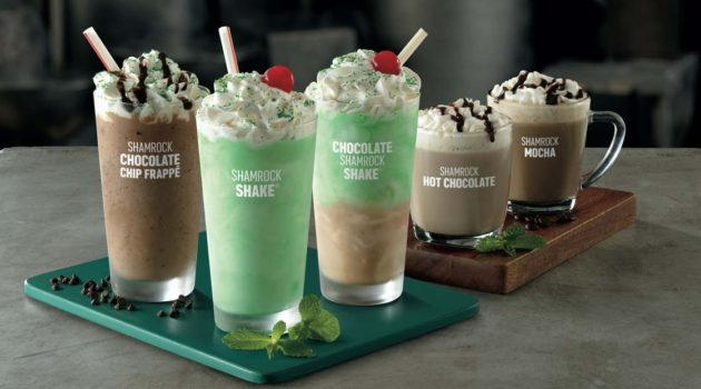Get Excited People, Because McDonald's Shamrock Shake Is Back!