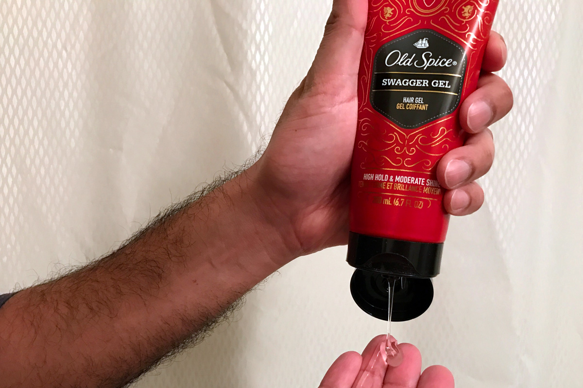 Old Spice Swagger Gel review