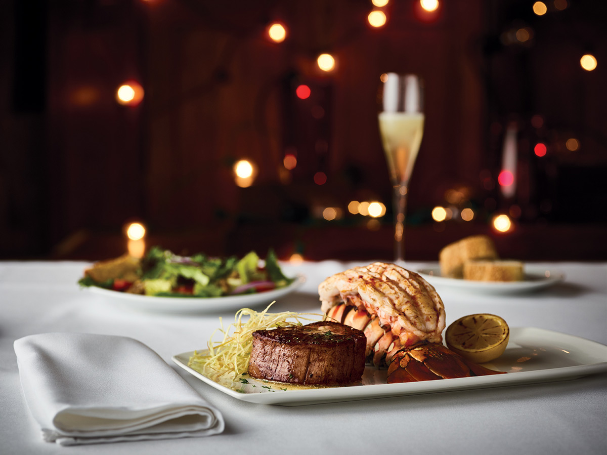 Valentine's Day Dinner at Fleming's - Steak and Lobster