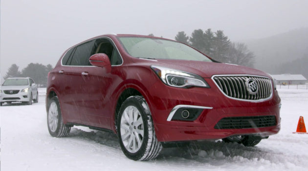 The Buick Envision's Active Twin-Clutch AWD System Helps You Stay In Control