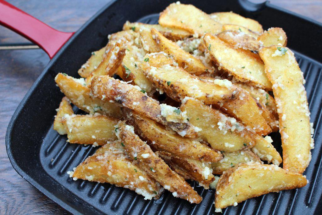 BurgaBox Garlic Parmesan Fries