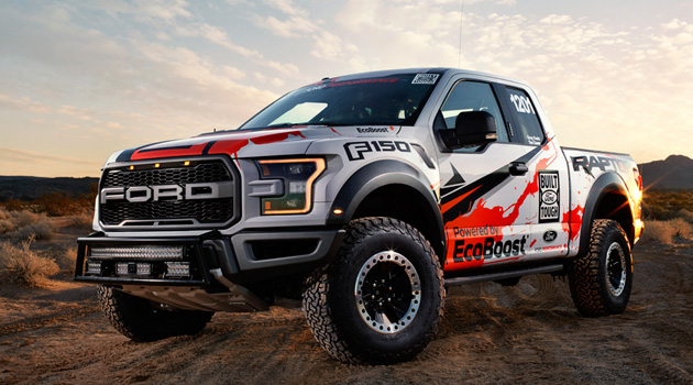 "Watch The Ford F-150 Raptor Tear Through The Desert In ""Born To Baja"""