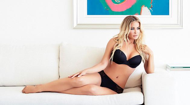 Carmen Electra Models Her New Lingerie Line, And DAMN She Looks Good!