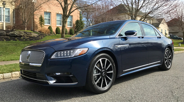 Review: 2017 Lincoln Continental AWD Reserve