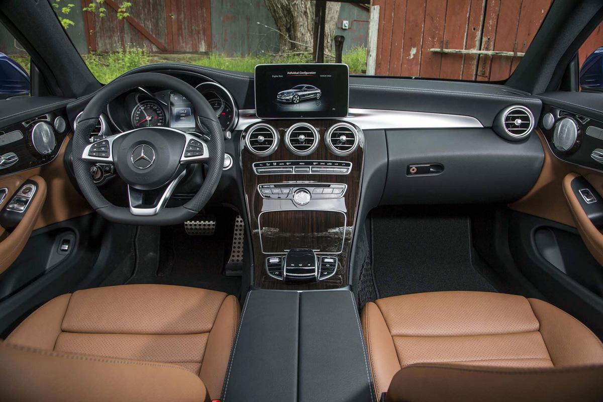 2017 Mercedes-Benz C300 Coupe interior