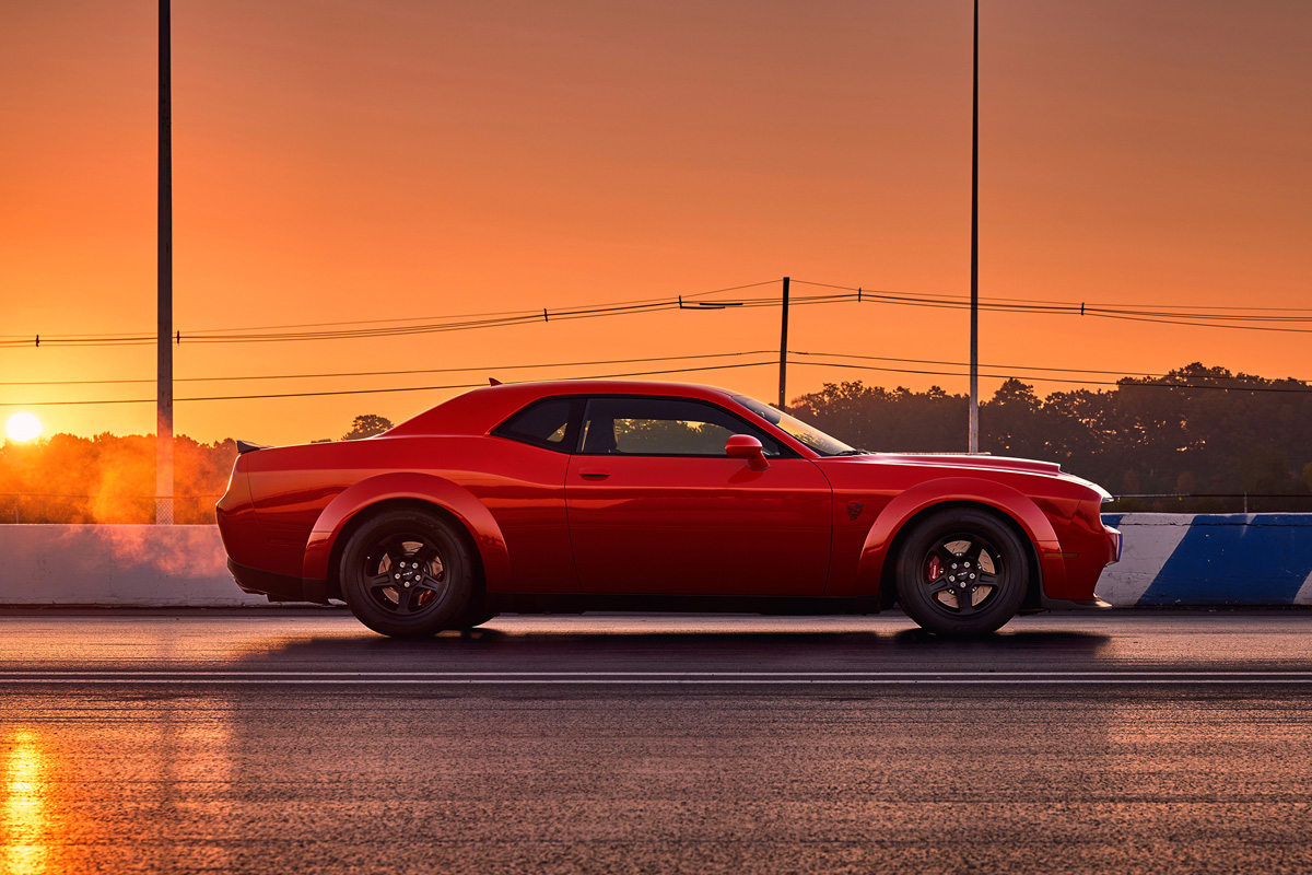 2018 dodge challenger srt demon is the most powerful muscle car ever. Black Bedroom Furniture Sets. Home Design Ideas