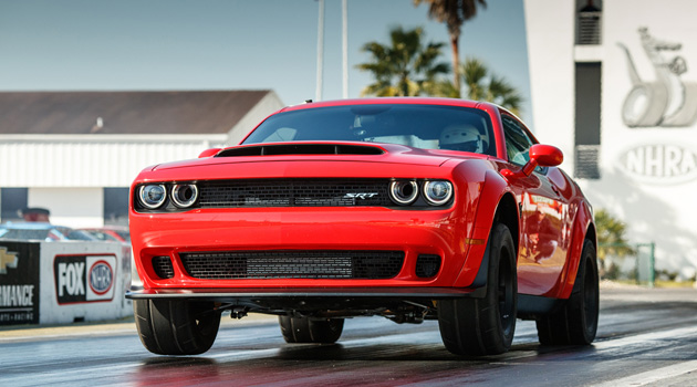 2018 Dodge Challenger SRT Demon Is The Most Powerful Muscle Car Ever