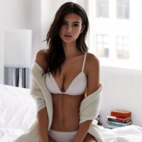 Emily Ratajkowski Poses In Lingerie For New DKNY Intimates Campaign