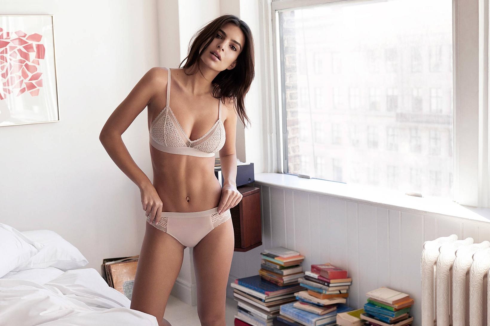 Emily Ratajkowski - DKNY Intimates Campaign
