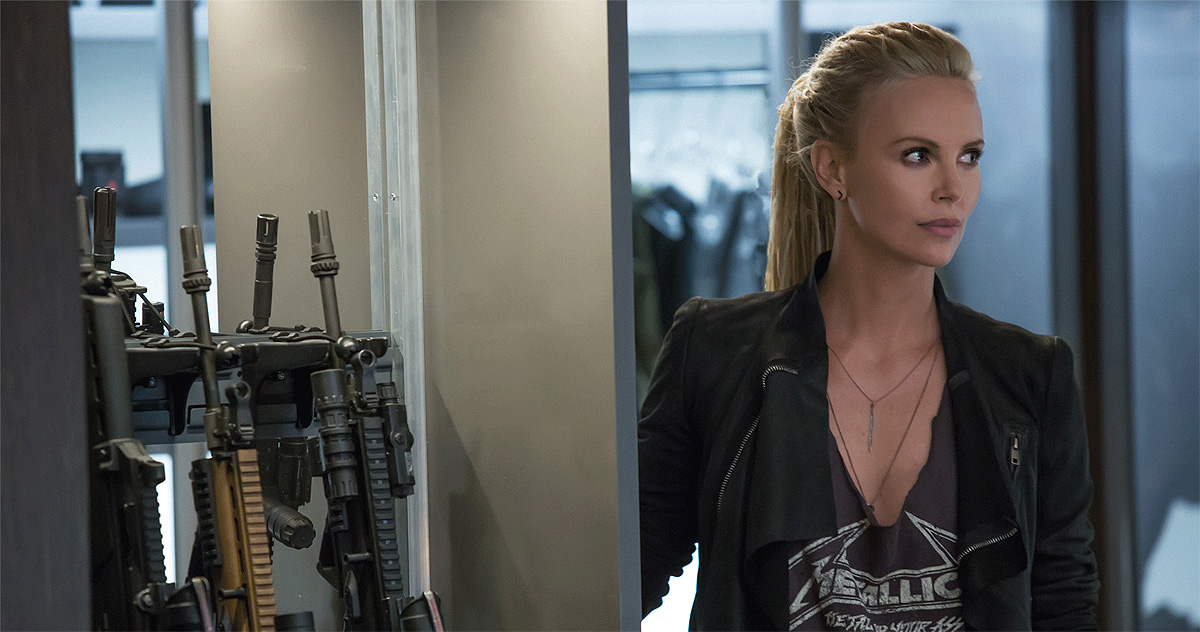 F8 - Charlize Theron