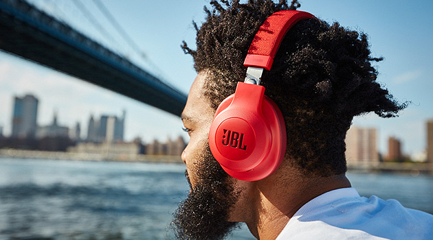 Enjoy Untethered Music With The JBL E55BT Wireless Over-Ear Headphones