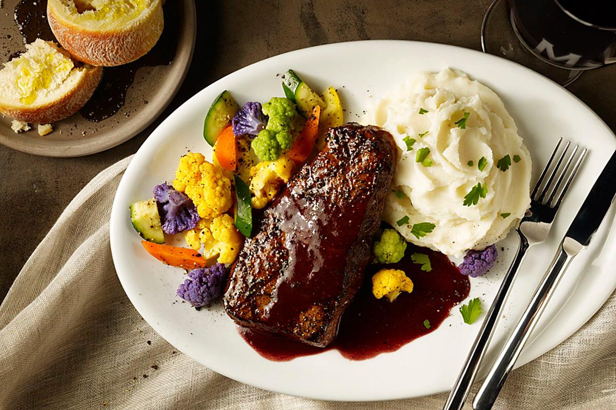 Maggiano's Denver Steak