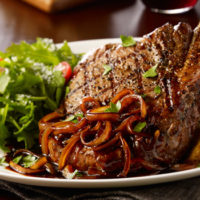 Maggiano's Little Italy Has Some Of The Best Steak Dishes Around!
