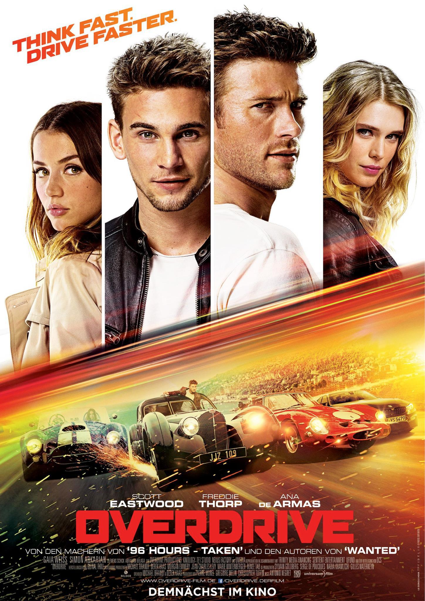 Overdrive movie poster