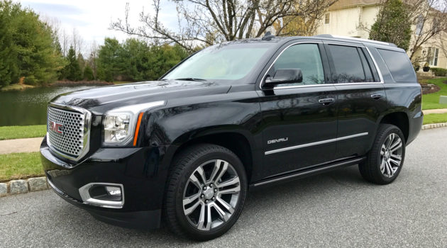 Rolling Around Town Like A VIP In The 2017 GMC Yukon Denali