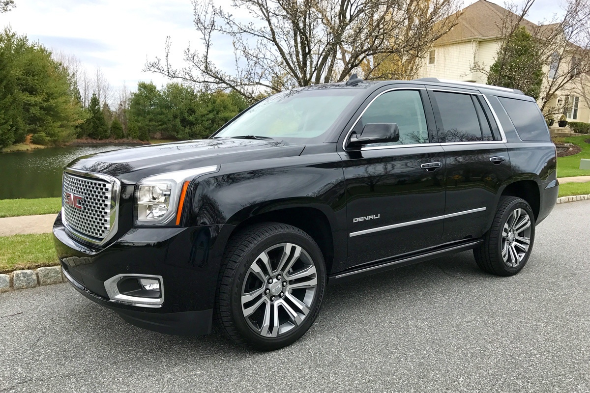 rolling around town like a vip in the 2017 gmc yukon denali. Black Bedroom Furniture Sets. Home Design Ideas