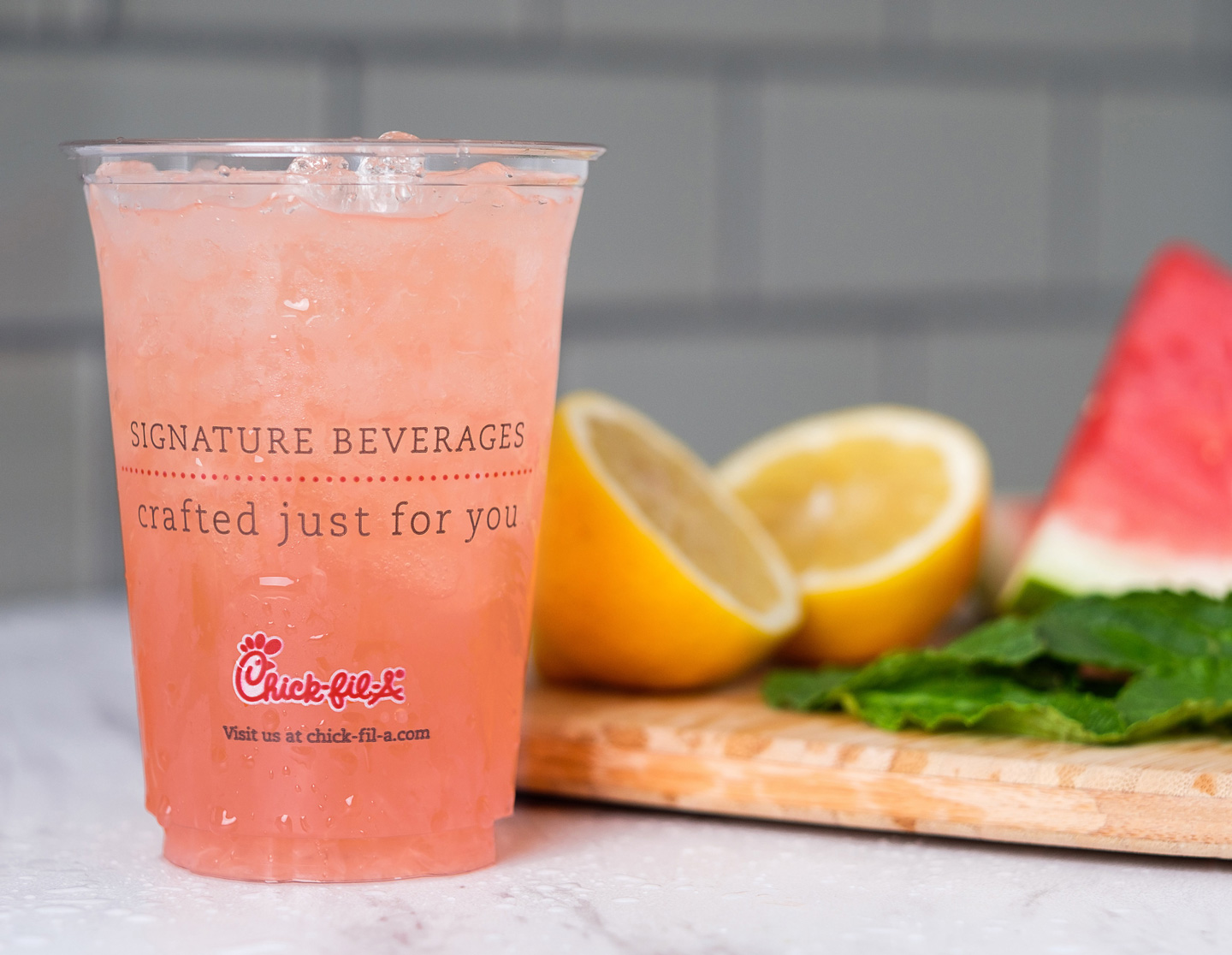 Chick-Fil-A Watermelon Mint Lemonade