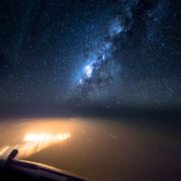 An Airline Pilot Captured This Beautiful FlightLapse Of The Milky Way