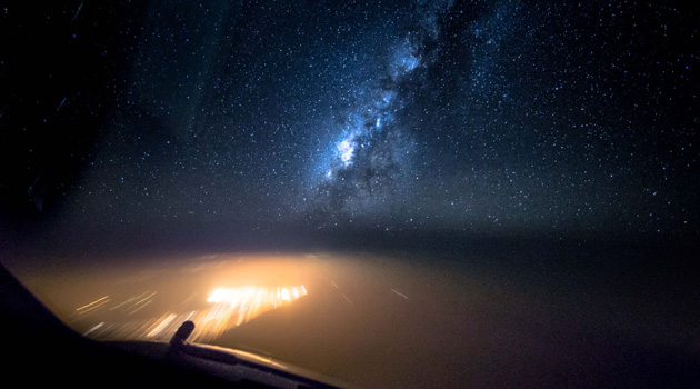 FlightLapse - Milky Way
