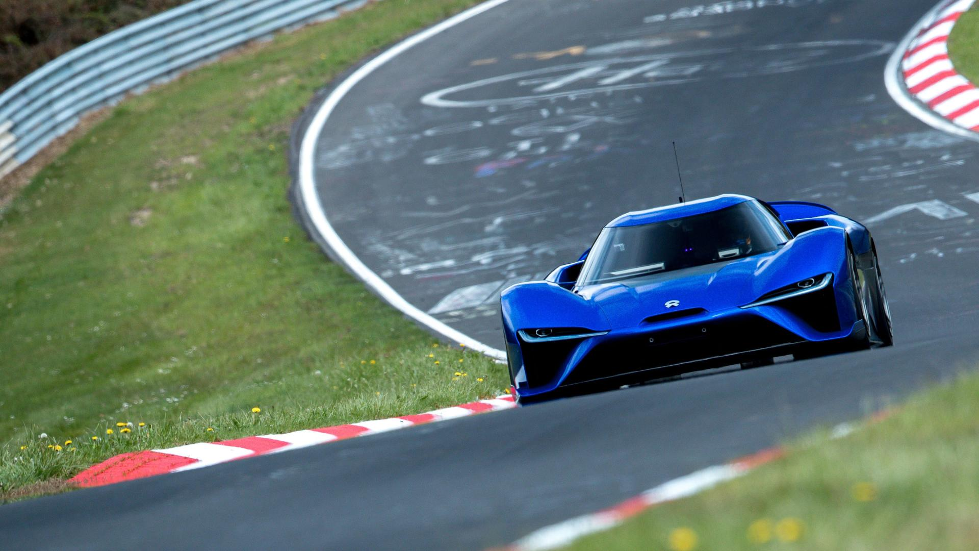 NIO EP9 Smash The Nurburgring Lap Record