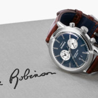 Shinola Launches Jackie Robinson Limited Edition Timepiece