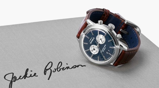 Shinola Jackie Robinson Limited Edition Watch