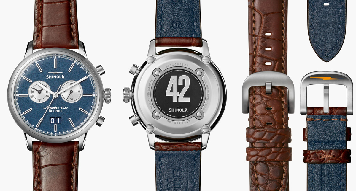 Shinola Jackie Robinson Watch Details