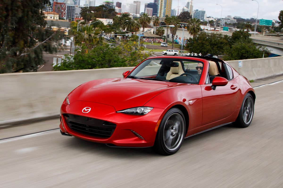 first drive 2017 mazda mx 5 miata rf. Black Bedroom Furniture Sets. Home Design Ideas