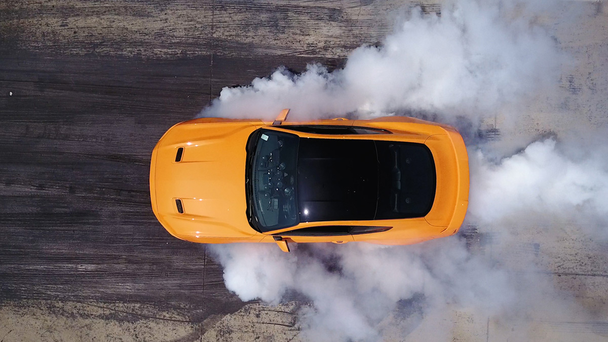 2018 Mustang Line-Lock standard on all models