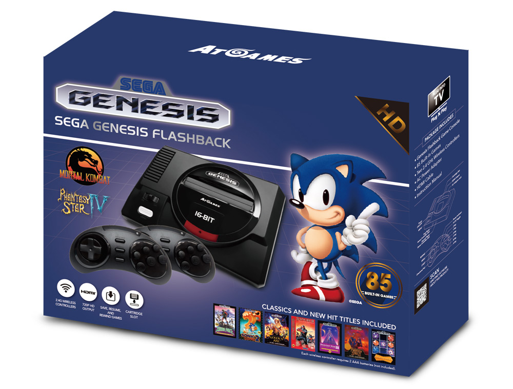 Sega Genesis Flashback box