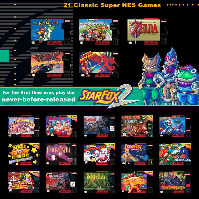 SNES Classic Edition games