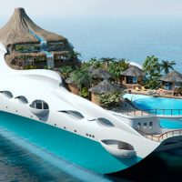 The Tropical Island Paradise Superyacht Is Basically A Floating Resort