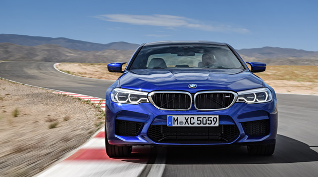 Introducing The All-New 2018 BMW M5