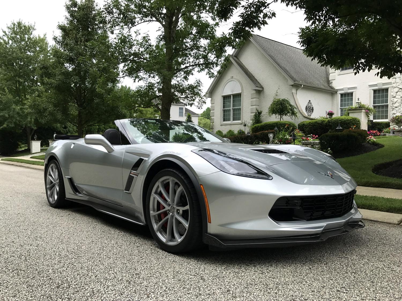 2018 Corvette Grand Sport Convertible