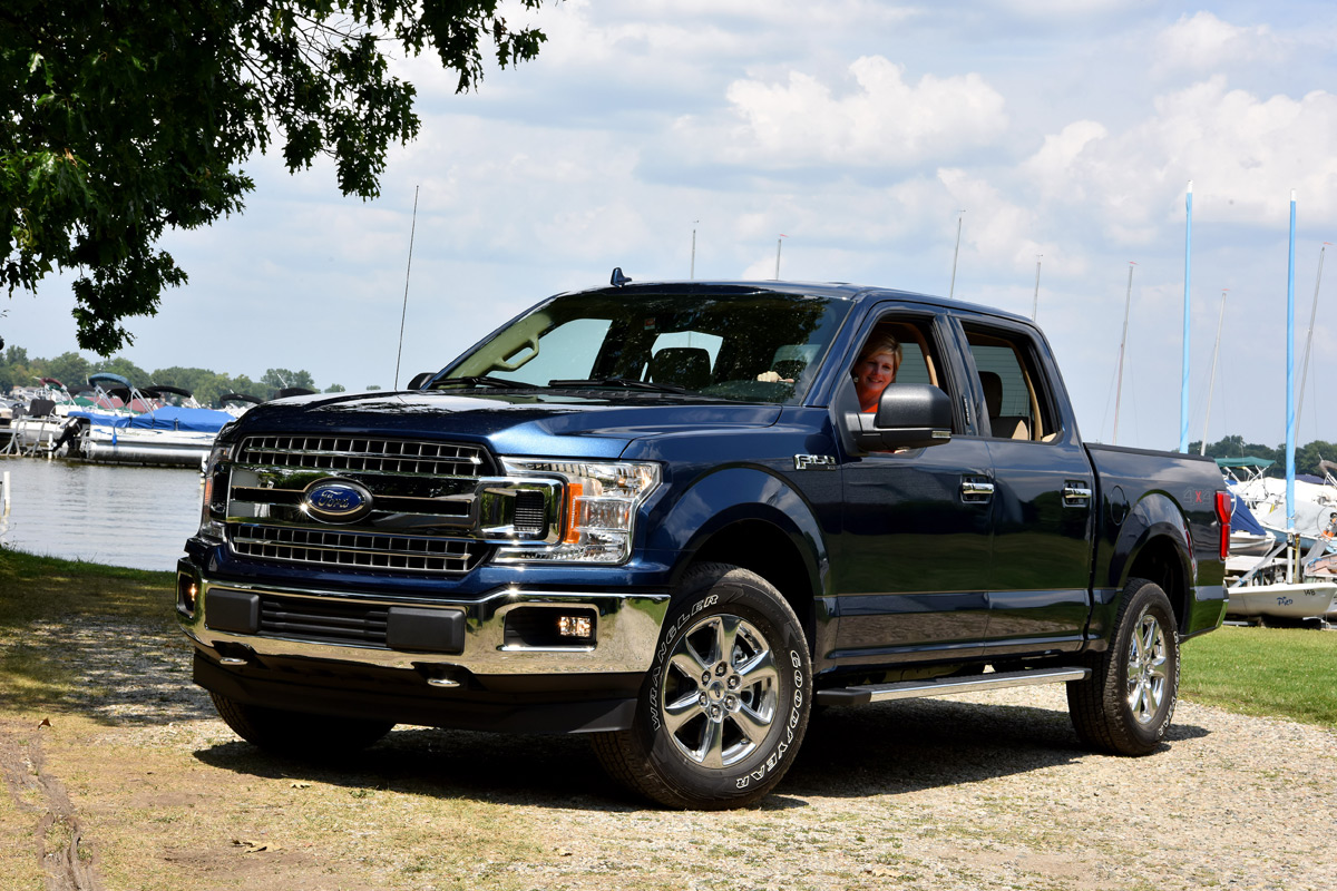 the 2018 ford f 150 is tougher smarter and more capable than ever. Black Bedroom Furniture Sets. Home Design Ideas