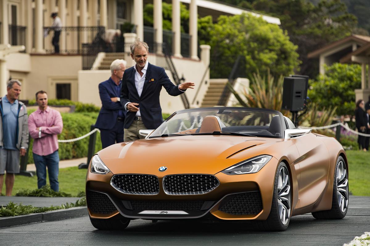 BMW Concept Z4 unveiled at Monterey Car Week